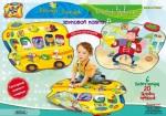 Звуковой коврик «Автобус-Зоопарк и Человек-Оркестр»